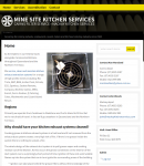 Kitchen cleaning services for mines and industry